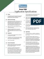 Denso Protal 7125 Brush Application Spec