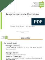 A2 Bases de La Thermique