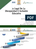 Linea de Tiempo Concepcion de Discapacidad y Marco Legal