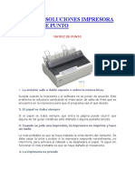 Fallas y Soluciones de Diferentes Impresoras
