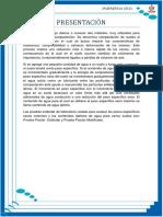 Proctor Estandar Informe 6