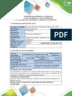 Guía de Actividades y Rúbrica de Evaluación - Pretarea - Calcular Captación de Agua Lluvia Para Abastecimiento