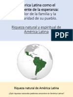 América Latina Como El Continente de La Esperanza