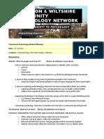 community psychology network meeting oct
