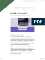 52 Retos de Escritura Semanal – Literatura Digital