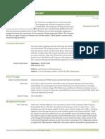 CGCC Report 2008 Profiles Beverages