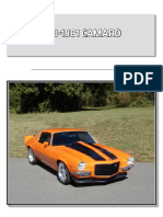 Chevy Parts Catalog Camaro 70 81