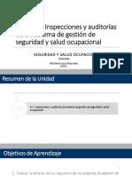 Unidad 6 - Inspecciones y Auditorías de Un SG de SySO