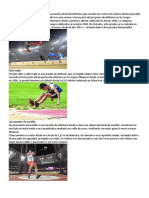 Eventos Del Atletismo