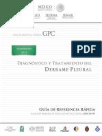 Derrame Pleural RR CENETEC