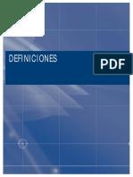 Definiciones. Informe general del estado de la ciencia y la tecnología 2005