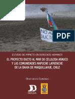 Estudio del Impacto del Ducto en Mehuin