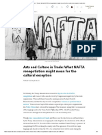 (5) Arts and Culture in Trade_ What NAFTA Renegotiation Might Mean for the Cultural Exception _ LinkedIn