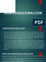 HIDRODESULFURACION