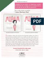 Una nota de Juana Martinez-Neal (Alma y cómo obtuvo su nombre)