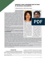 El Analisis de Patentes Como Estrategia Para La Toma de Decisiones Innovadoras Diaz & De Moya-Anegón