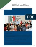 07/Febrero/2018 Miguel Castro precandidato por el PRI para la gubernatura de Jalisco presentó su plan de gobierno