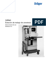 Manual de Operacion de Maquina de Anestesia Drager