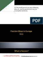 fascism and mussolini intro