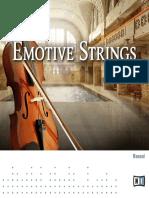 Emotive Strings Manual English