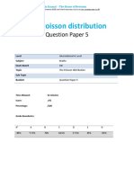 44.5 the Poisson Distribution Qp Ial-cie-maths-s2