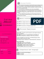 CV Fatoumti 3