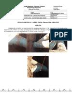 Registro de Instalacion Cinta Reparadora Minera Teck Cda