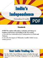 sc   indian independence
