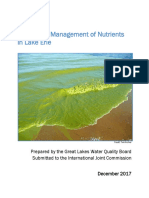 IJC Water Quality Board Lake Erie Report 2017