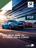 BMW 1er Katalog 2017