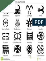 West African Adinkra Symbols 27166747