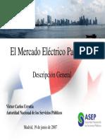 Mercado Electrico en Panama