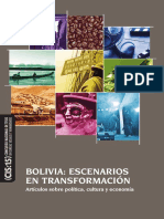 Bolivia Escenarios en Transformación