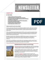 2010 August Newsletter