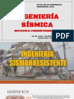 Definición e Identificación de La Ingeniería Sismorresistente