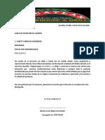 Carta de Intencion de Compra El Balcon