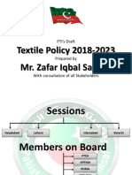 PTI Textile Policy Presentation (Complete)