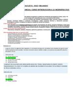 Examen Parcial de Introduccion a La Ingenieria Civil