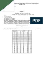 Coeficiente de Correlación de Pearson Para Datos Agrupados en Intervalos