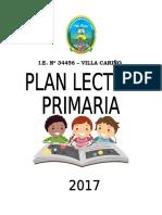 PLAN LECTOR 2017 Villa Cariño