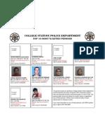 CSPD Sept 2010 Ten Most Wanted