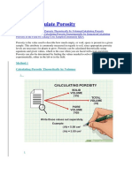 How to Calculate Porosity