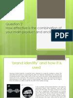 question 2 - media studies evaluation