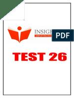 26. Insight Csp 2017 Test 26