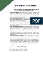LA ARQUITECTURA EN BOLIVIA A PARTIR DE LOS MATERIALES NATURALES CON TENDENCIAS ECOLÓGICAS Y EN NUESTRAS REGIONES