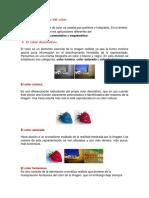 Simbología y Expresividad Del Color TERCERO BASICO INEB