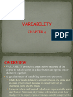 Chapter 4 Variability