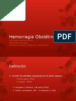 MME Hemorragia
