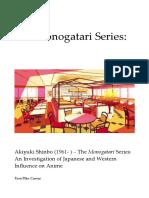 The Monogatari Series