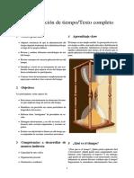 Administración de Tiempo-Texto Completo